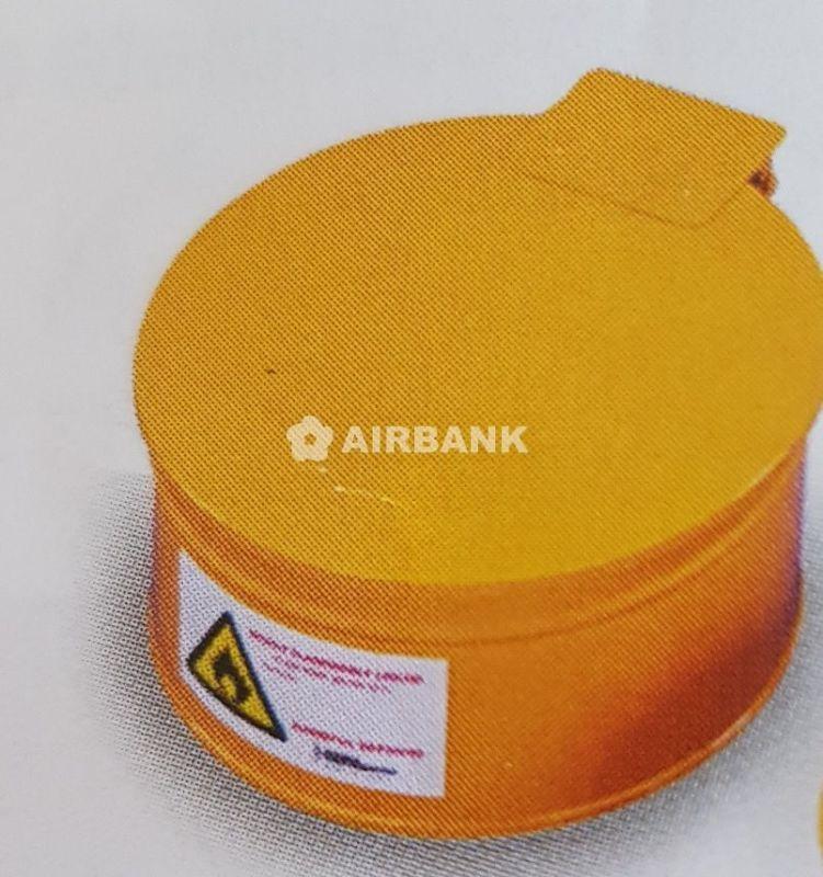 Contenitore da banco di sicurezza per rifiuti infiammabili litri 4