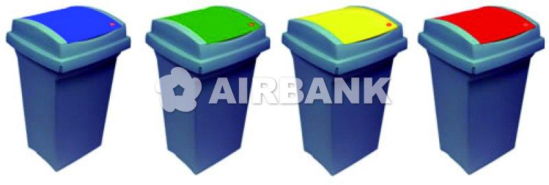 Contenitori Da Esterno Plastica.Contenitori In Plastica Per La Raccolta Differenziata Da Interno O