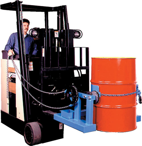 LIFTING, MOVING, POURING FORKLIFT ATTACHMENTS