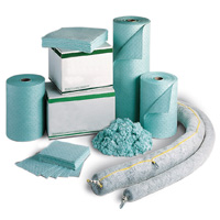 ABSORBENTS FOR CORROSIVE, CAUSTIC AND TOXIC LIQUIDS