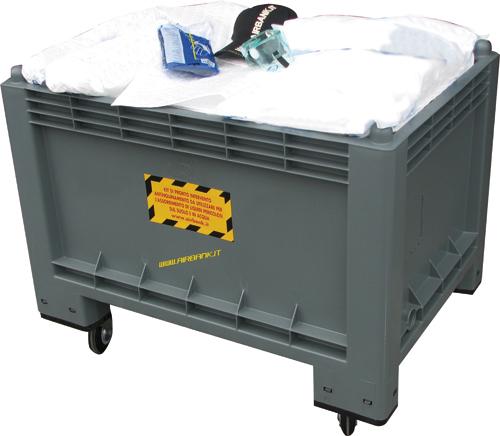 Kit di pronto intervento universali per tutti i tipi di liquido