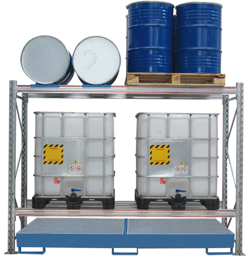 DRUM, JERRYCAN OR IBC RACKS