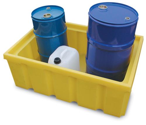 Scaffali e vasche da laboratorio in polietilene