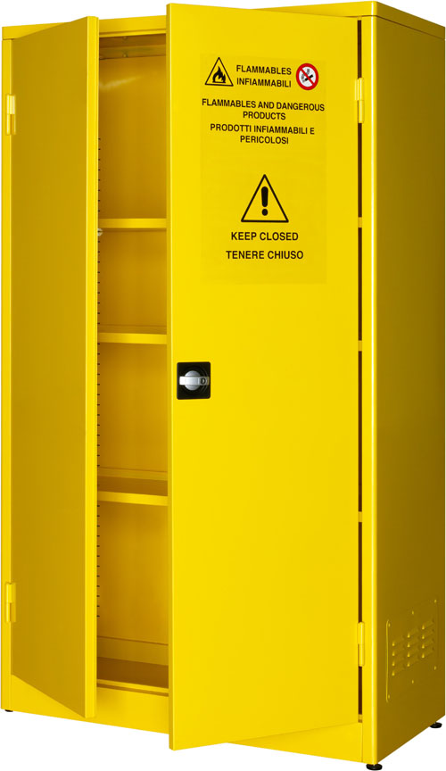 SAFETY CABINETS FOR HAZARDOUS LIQUIDS AND PESTICIDES