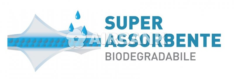 SUPERASSORBENTE BIODEGRADABILE  | AIRBANK Industria Sicurezza Ambiente