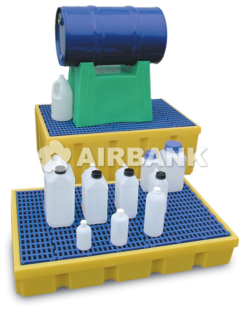 PE dip trays  | AIRBANK Industria Sicurezza Ambiente