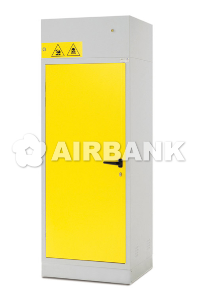 Safety cabinets certified for ACIDS, CHEMICALS AND BASES   | AIRBANK Industria Sicurezza Ambiente