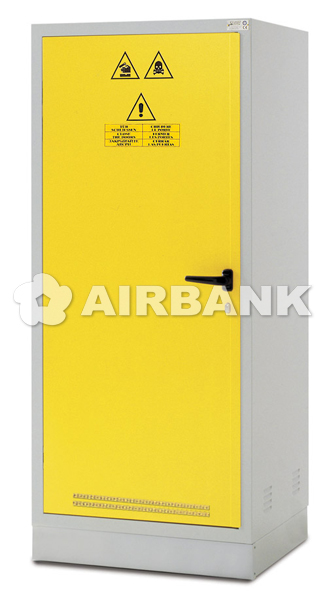Safety cabinets for ACIDS, CHEMICALS AND BASES.  | AIRBANK Industria Sicurezza Ambiente