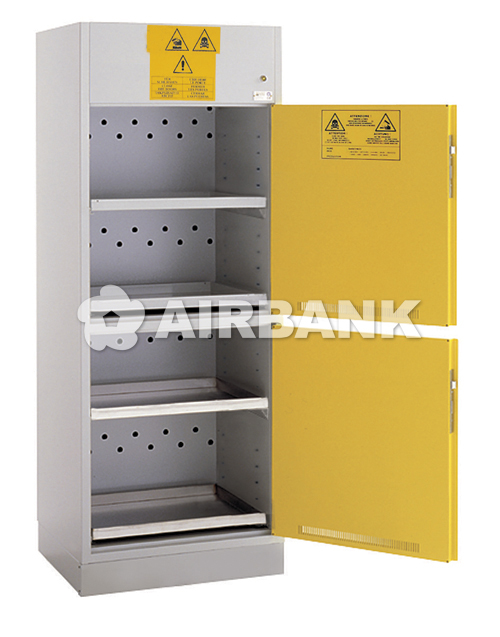 Safety cabinets certified with separate compartments  | AIRBANK Industria Sicurezza Ambiente