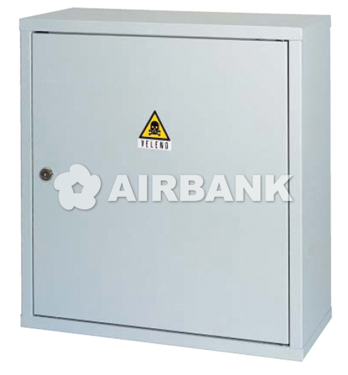 Safety cabinet for HARMFUL, TOXIC PRODUCTS AND POISON .  | AIRBANK Industria Sicurezza Ambiente