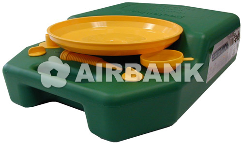 MOTOR OIL DRAINING CONTAINER.  | AIRBANK Industria Sicurezza Ambiente