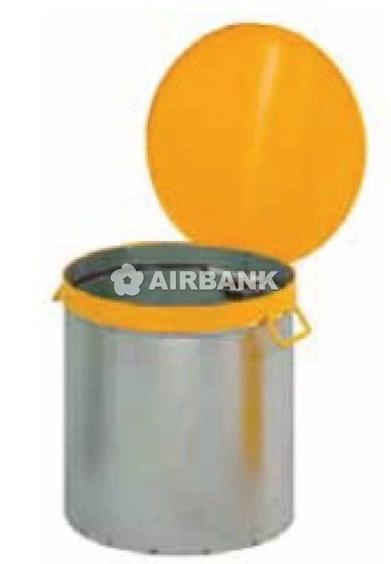 OILY WASTE CANS.
