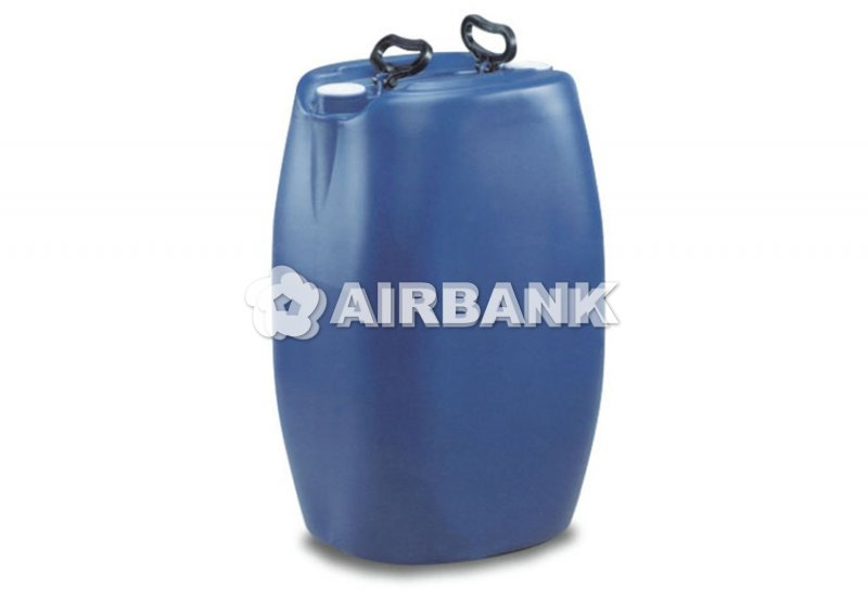 POLYETHYLENE (PE) DRUM RECTANGULAR-SECTION TYPE-APPROVED FOR TRANSPORT WITH NARROW MOUTH OPENING
