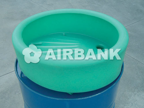 PE funnel for 220 lt. drums  | AIRBANK Industria Sicurezza Ambiente