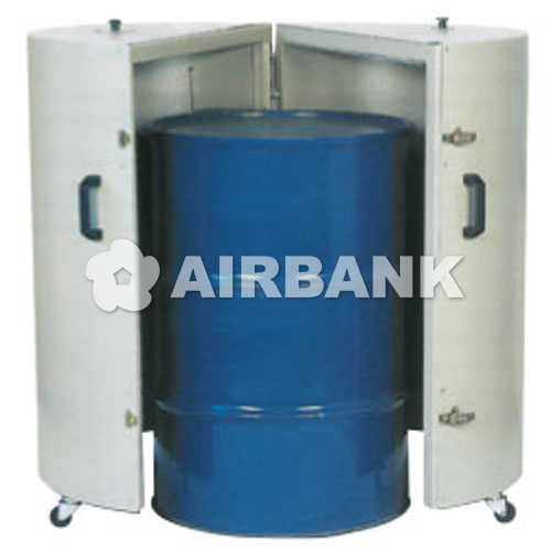 VERTICAL DRUM-HEATER.  | AIRBANK Industria Sicurezza Ambiente