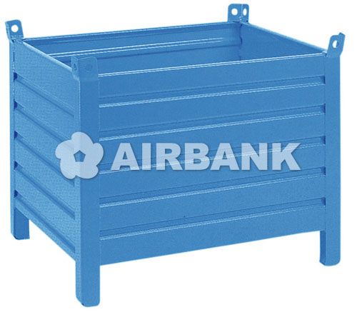 CORRUGATED STEEL WASTE CONTAINERS  | AIRBANK Industria Sicurezza Ambiente