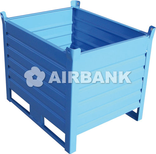 HEAVY DUTY CORRUGATED STEEL CONTAINER  | AIRBANK Industria Sicurezza Ambiente
