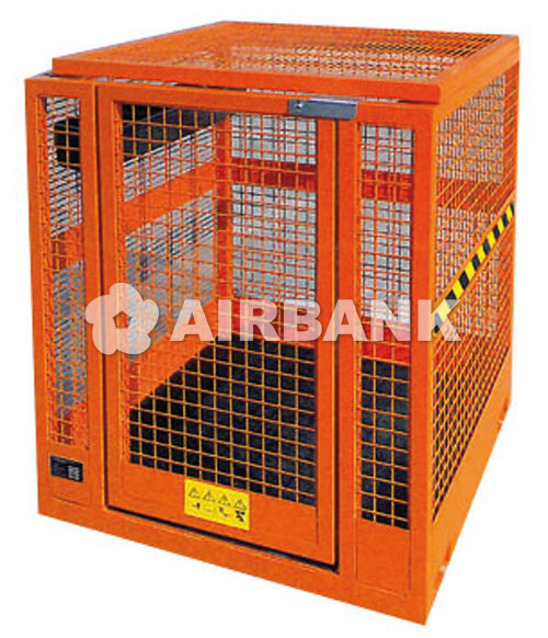 SAFETY CAGE FOR OVERHEAD MAINTENANCE  | AIRBANK Industria Sicurezza Ambiente
