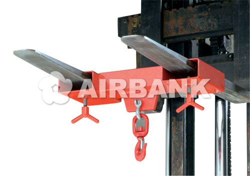 Fork hook with two fork openings  | AIRBANK Industria Sicurezza Ambiente
