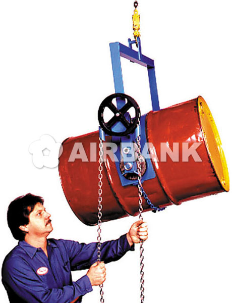 Drum rotator - STANDARD load capacity (363 kg).