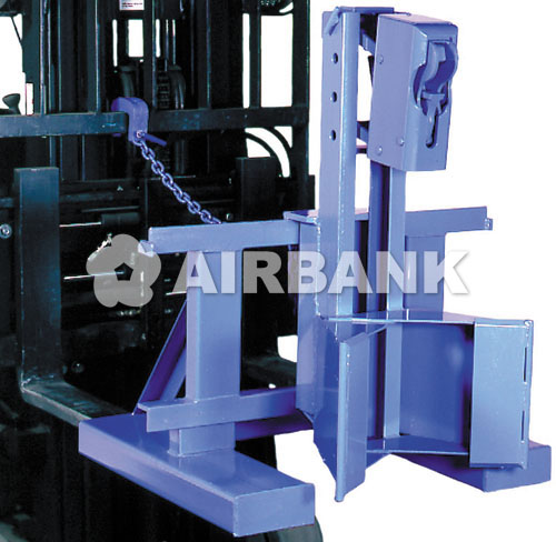 HANDLING OF DRUMS IN VERTICAL LIFT TRUCK
