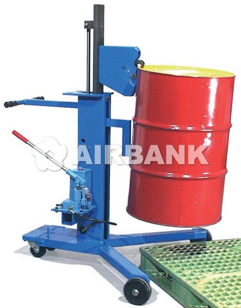 Hydraulic drum palletizer  | AIRBANK Industria Sicurezza Ambiente