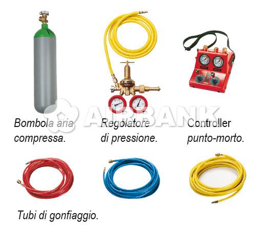 CUSCINI DI SOLLEVAMENTO ALTA PRESSIONE 8 BAR