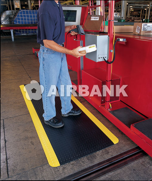 �HEAVY DUTY� SLIP RESISTANT FLOOR MAT RUNNER  | AIRBANK Industria Sicurezza Ambiente