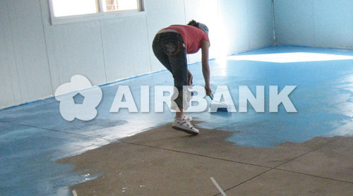 PROTECTION FOR INDOOR/OUTDOOR CONCRETE SURFACES  | AIRBANK Industria Sicurezza Ambiente
