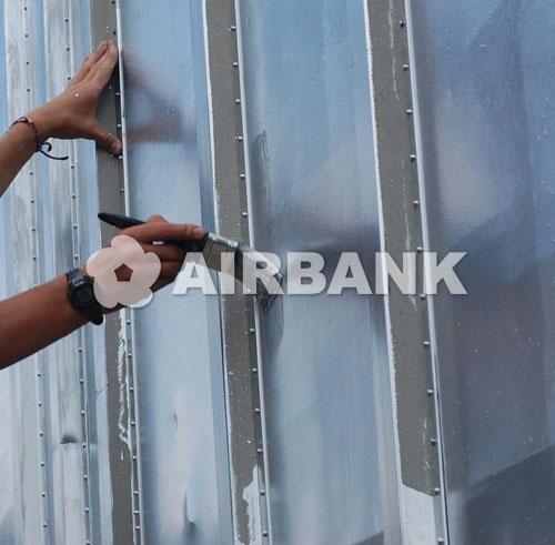 PROTECTIVE COATING FOR METAL INDOOR/OUTDOOR SURFACES.  | AIRBANK Industria Sicurezza Ambiente