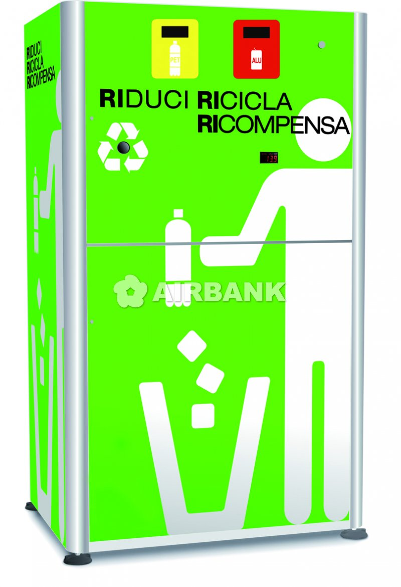 COMPACTOR WITH 2 COMPARTMENTS  | AIRBANK Industria Sicurezza Ambiente
