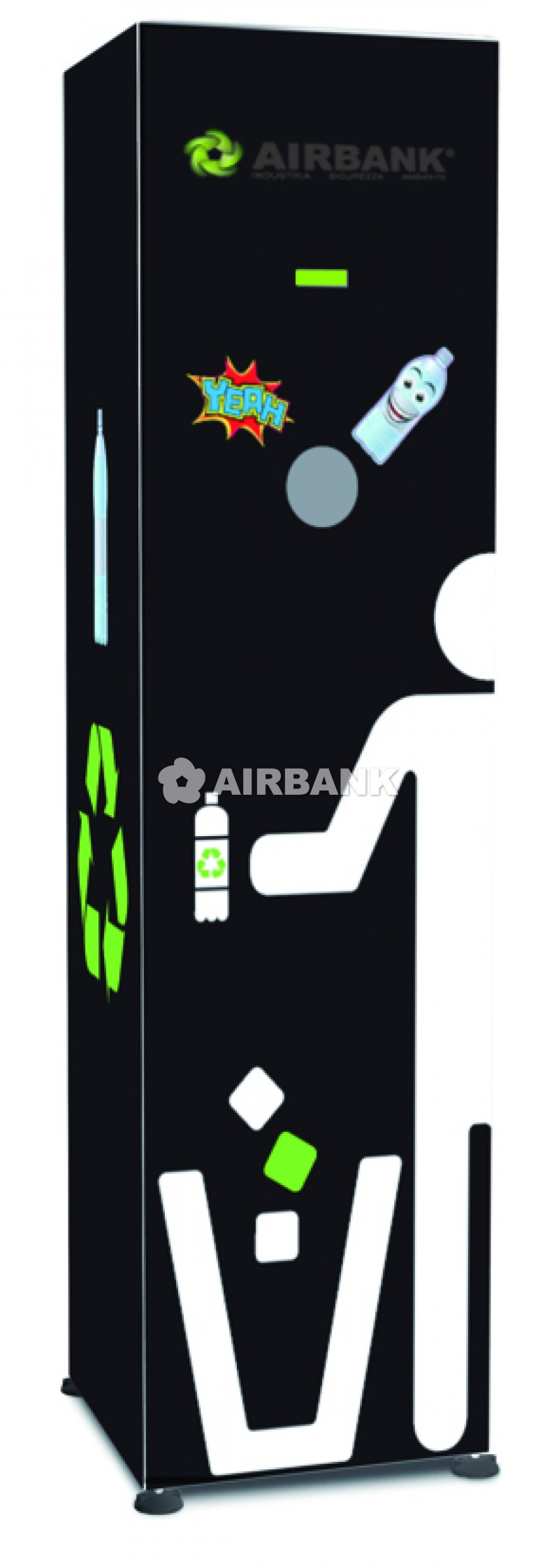 SINGLE-COMPARTMENT COMPACTOR  | AIRBANK Industria Sicurezza Ambiente