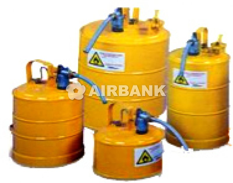 DISPENSING BARRELS FOR FLAMMABLE AND CORROSIVE LIQUID
