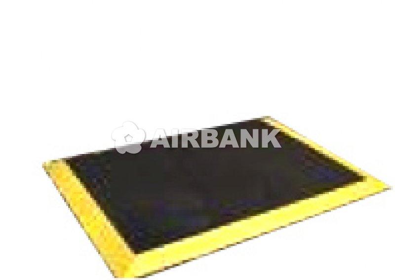 PRECUT BLACK MAT (YELLOW BORDER)