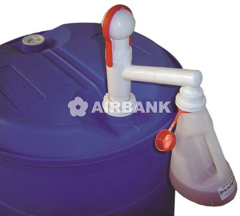 POMPA A TAMBURO MANUALE IN POLIPROPILENE per qualsiasi tipologia di liquidi