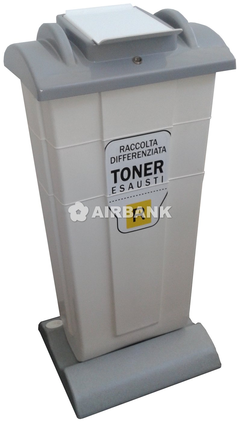CONTAINER FOR EXHAUSTED TONER CARTRIDGES  | AIRBANK Industria Sicurezza Ambiente
