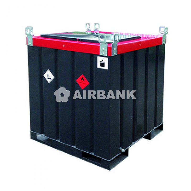 METAL TANKS FOR DIESEL TRANSPORTATION, ADR APPROVED, UN MARKING  | AIRBANK Industria Sicurezza Ambiente