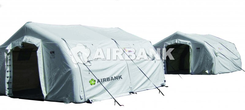 INFLATABLE AIR SHELTER  | AIRBANK Industria Sicurezza Ambiente