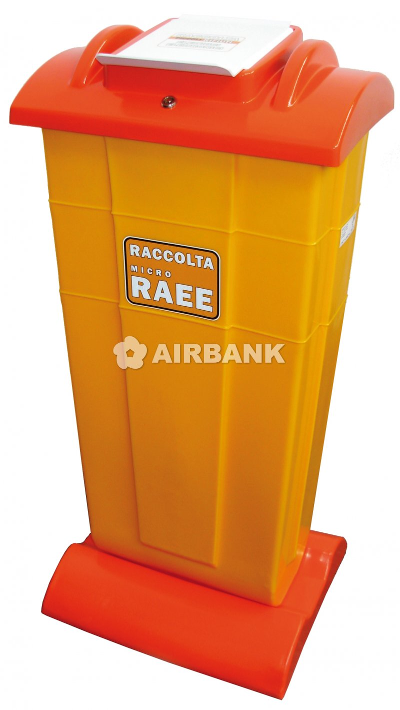 CONTAINER FOR MICRO WEEE COLLECTION  | AIRBANK Industria Sicurezza Ambiente