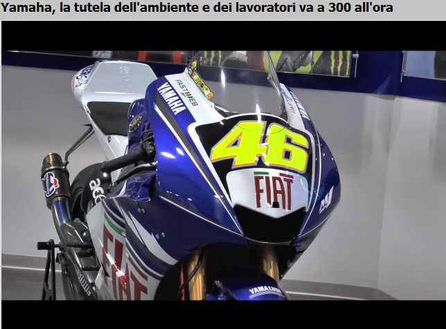 Airbank: Yamaha Motor Racing rinnova l'impegno ambientale grazie alla tecnologia Made in Italy