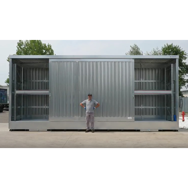 Containers for storing hazardous substances and pollutants